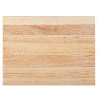 """Choice 20"""" x 15"""" x 1 3/4"""" Wood Cutting Board"""