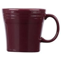 Homer Laughlin 1475341 Fiesta Claret 15 oz. Tapered Mug   - 12/Case