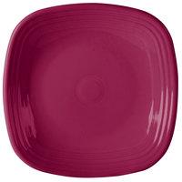 Homer Laughlin 919341 Fiesta Claret 10 3/4 inch Square Dinner Plate - 12/Case