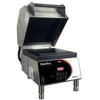 Nemco 6900-GF PaniniPro 14 1/2 inch Single High-Speed Panini Press with Grooved Top and Flat Bottom Plates