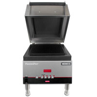 Nemco 6900-FF PaniniPro 14 1/2 inch Single High-Speed Panini Press with Flat Top and Bottom Plates