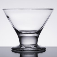 Libbey 3803 8 oz. Mini Martini / Dessert Glass - 12/Case