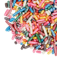 Pearlized Rainbow Sprinkle Mix - 6 lb.