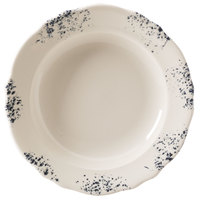 Homer Laughlin 112641300 Cottage Bleu 11 1/2 inch Scalloped Edge Pasta Plate - 12/Case