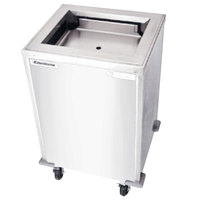 Delfield T-2020H Heated Enclosed Mobile Tray Dispenser for 20 inch x 20 inch Trays