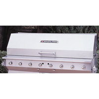 Bakers Pride 21844530-60S 30 inch Ultimate Outdoor Charbroiler Stainless Steel Smoke and Roast Roll Top Hood