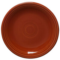 Homer Laughlin 464334 Fiesta Paprika 7 1/4 inch Salad Plate - 12 / Case