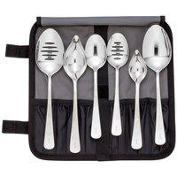 Mercer M35151 7 Piece Plating Spoon Set
