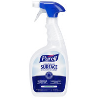 Purell 3340-12 32 oz. Fragrance Free Healthcare Surface Disinfectant   - 12/Case