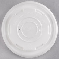 EcoChoice 8 oz. Compostable and Biodegradable Soup / Hot Food Cup Lid   - 25/Pack