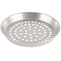 American Metalcraft ADEP16SP 16 inch x 1 inch Super Perforated Standard Weight Aluminum Tapered Deep Dish Pizza Pan