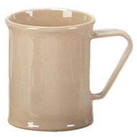 Carlisle PCD79625 Tan 9.6 oz. Polycarbonate Plastic Mug - 48 / Case