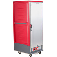 Metro C539-HFS-U C5 3 Series Heated Holding Cabinet with Solid Door - Red
