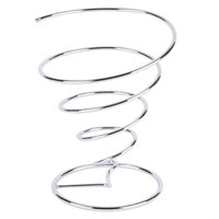 GET 4-88807 7 inch Stainless Steel Spiral Cone Basket