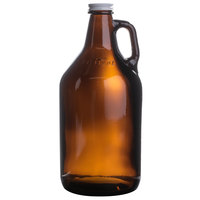 Libbey 70217 64 oz. Amber Growler