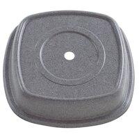 Granite Gray Cambro 1111SMVS191 Versa Camcover 11 inch Square Plate Cover 12/Case