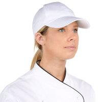 Choice Adjustable White Chef Cap