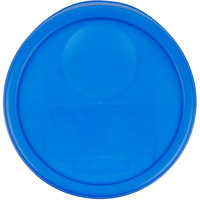 Rubbermaid 1980382 Color-Coded 6 and 8 Qt. Blue Round Food Storage Container Lid