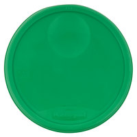 Rubbermaid 1980388 Color-Coded 12, 18, and 22 Qt. Green Round Food Storage Container Lid
