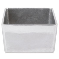 Tablecraft CW4024N Contemporary Collection Natural / Pewter 1 Qt. Straight Sided Bowl