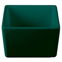 Tablecraft CW4024HGN Contemporary Collection Hunter Green 1 Qt. Straight Sided Bowl