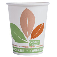 Dart Solo 370PLA-J7234 Bare Eco-Forward 10 oz. Paper Hot Cup -50 / Pack
