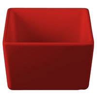 Tablecraft CW4024R Contemporary Collection Red 1 Qt. Straight Sided Bowl