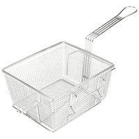 Star 216FBL 10 inch x 8 3/4 inch x 5 1/4 inch Full Size Fryer Basket with Left Hook
