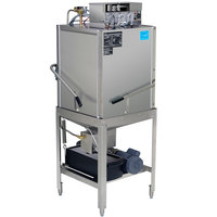 CMA Dishmachines EST-C-EXT Extended-Door Single Rack Low Temperature, Chemical Sanitizing Corner Dishwasher - 115V