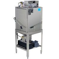 CMA Dishmachines EST-C-EXT Extended-Door Single Rack Low Temperature, Chemical Sanitizing Corner Dishwasher - 115V