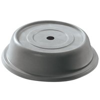Cambro 91VS191 Versa Camcover 9 1/8 inch Granite Gray Round Plate Cover - 12/Case