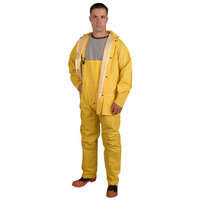Yellow 2 Piece Rainsuit - Small