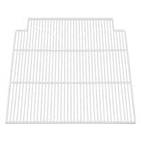 True 909149 White Coated Notched Wire Shelf - 24 1/4 inch x 23 1/2 inch