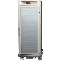Metro C589-SFC-UPFC C5 8 Series Reach-In Pass-Through Heated Holding Cabinet - Clear Full Doors