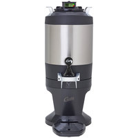Curtis TFT15G3 FreshTrac 1.5 Gallon Thermal Stainless Steel Coffee Server with Base and Brew Through Lid