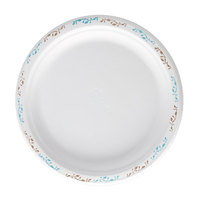 Huhtamaki Chinet 22515 6 inch Round Molded Fiber Plate with Vines Design - 1000/Case