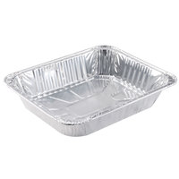 Choice 1/2 Size Foil Steam Table Pan 2 9/16 inch Deep 20 / Pack