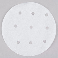 Choice 4 inch Perforated Round Patty Paper   - 500/Box