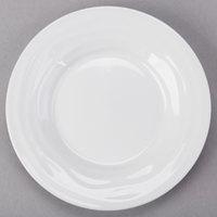 Tuxton GDP-060 TuxTrendz Sandbar 2.5 oz. Bright White China Oil Dish - 24/Case