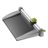 Swingline SWI9618 SmartCut 15 inch x 23 inch 30 Sheet Commercial Heavy-Duty Rotary Paper Trimmer with Metal Base