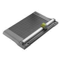 Swingline SWI9512 SmartCut Pro 10 1/4 inch x 17 1/4 inch 10 Sheet Rotary Paper Trimmer with Metal Base
