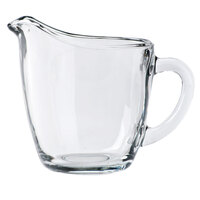 Anchor Hocking 64191B 4 inch Glass Creamer with Handle - 4 / Case