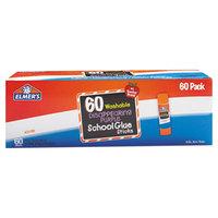 Elmer's EPIE503 0.24 oz. Disappearing Purple School Glue Stick - 60/Box