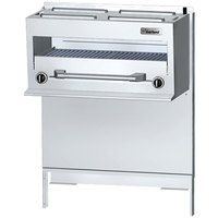Garland GFIR48 Natural Gas Range-Mount Infra-Red Salamander Broiler for GF / GFE48 Series Ranges - 28,000 BTU