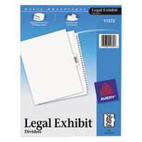 Avery AVE11372 Premium Collated 26-50 Tab Table of Contents Legal Exhibit Dividers
