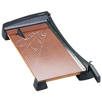 Elmer's EPI26364 X-Acto 12 inch x 24 inch 15 Sheet Heavy-Duty Guillotine Paper Trimmer with Wood Base