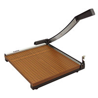 Elmer's EPI26615 X-Acto 15 inch Square 15 Sheet Commercial Guillotine Paper Trimmer with Wood Base