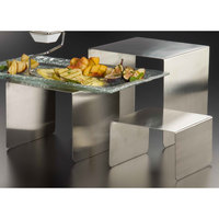 American Metalcraft RSS3 Satin Finish Stainless Steel Riser Set