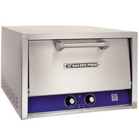 Bakers Pride P-22S-BL Brick Lined Electric Countertop Pizza and Pretzel Oven - 220-240V, 3 Phase, 3600W