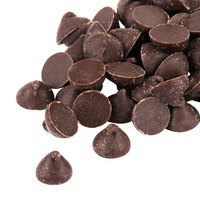 Pure Semi-Sweet 1M Chocolate Baking Chips 25 lb.